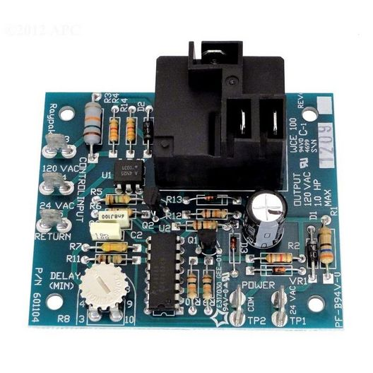 PC Board Pump Relay