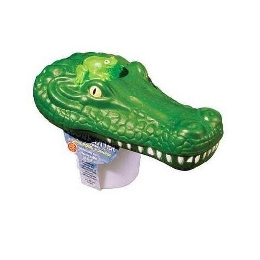 Poolmaster - Poolmaster 32132 Clori-Gator Green Floating Chlorine Tab Dispenser - 365788