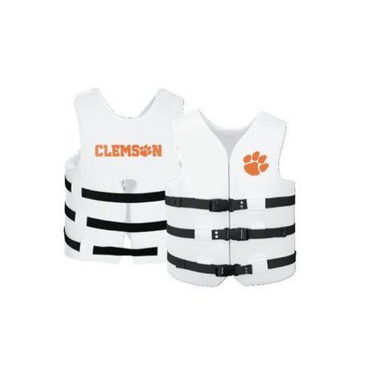 Texas Recreation - Super Soft Life Vest, Clemson, Adult Large - 366272