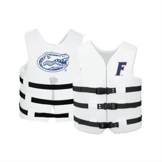 Texas Recreation - Super Soft Life Vest, University of Florida, Adult Large - 366273
