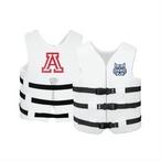Texas Recreation - Super Soft Life Vest, University of Arizona, Adult Extra Large - 366294