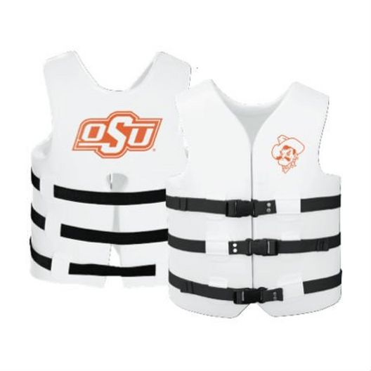Texas Recreation - Super Soft Life Vest, Oklahoma State, Adult Extra Large - 366300