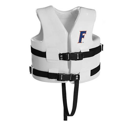 Texas Recreation - Super Soft Life Vest, University of Florida, Child Small - 366324
