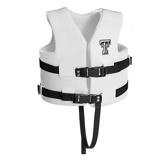 Super Soft Life Vest, Texas Tech, Child Extra Small