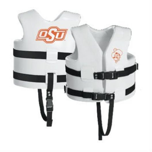 Texas Recreation - Super Soft Life Vest, Oklahoma State, Child Medium - 366353