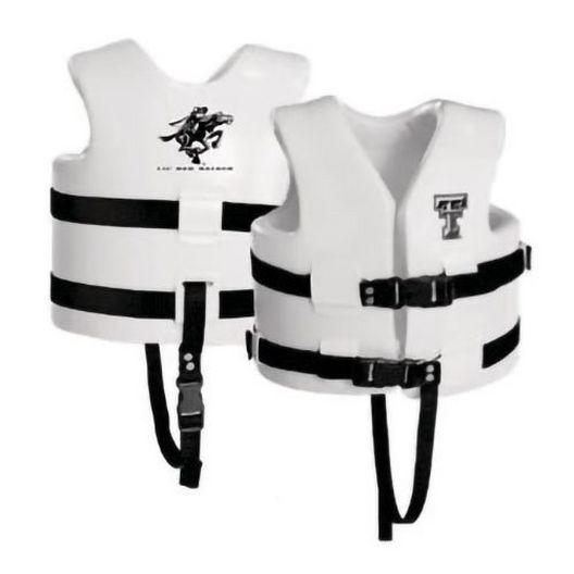 Texas Recreation - Super Soft Life Vest, Texas Tech, Child Medium - 366358