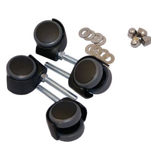 2 inch Casters for 3, 3A, 4/pk