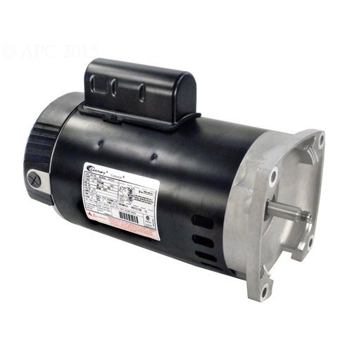 Pentair - Motor, 2HP 3 Phase 208 230 460V Almond