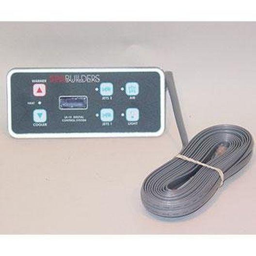 Topside Control LX-15 6 Button 25' Alpha Rev 5.31 No Remote Cable