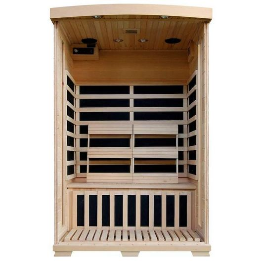 Heatwave - 2-Person Sauna with Carbon Heaters - 367395