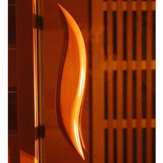 Heatwave - 2-Person Cedar Deluxe Sauna with Carbon Heaters - 367396