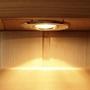 4-Person Hemlock Corner Infrared Sauna with Carbon Heaters