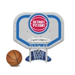 Detroit Pistons NBA Pro Rebounder Poolside Basketball Game