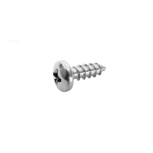 Screw, #8 x 1/2 inch, Commercial