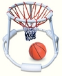 Super Hoops Floating Basketball Game PVC Construction, Heavy Duty Net And Real Feel Basketball