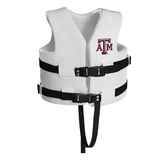 Texas Recreation - Super Soft Life Vest, Texas A&M, Child Small - 367870
