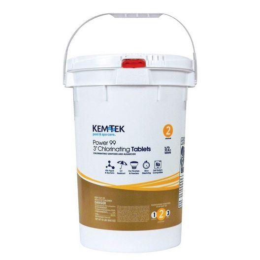 "Kem-Tek - 3"" Chlorine Tabs - Bucket - f83a6923-80ee-41a3-a463-862c1bc065e8"