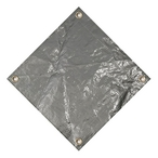 Pro 12' x 24' Rectangle Winter Pool Cover, 15 Year Warranty, Silver