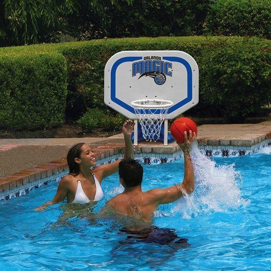 Poolmaster  Orlando Magic NBA Pro Rebounder Poolside Basketball Game