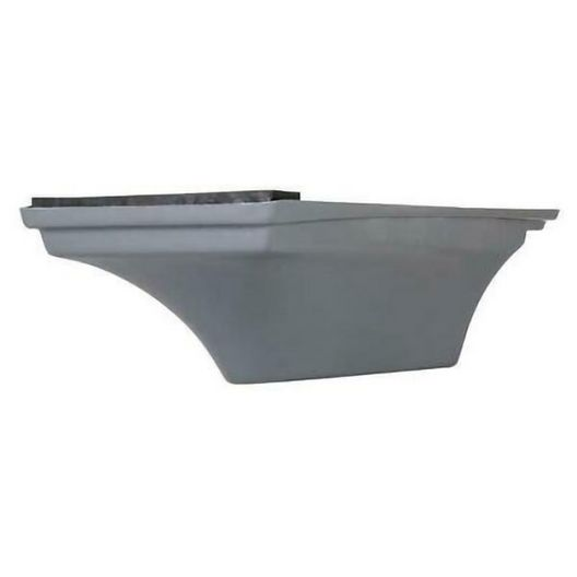 Flyte Deck II 6' Stand, Pewter Gray