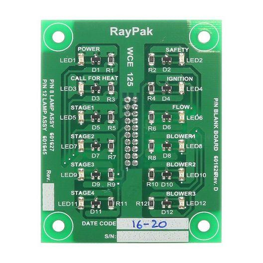 Raypak - Printed Circuit Board Status Lights - 368401