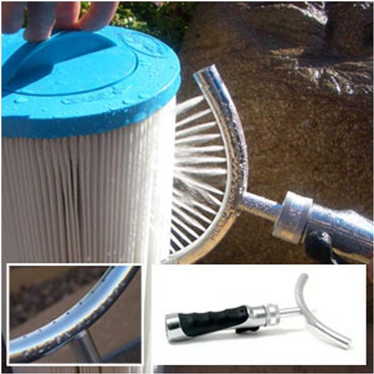 Pool and Spa Filter Cartridge Cleaning Tool