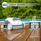 Dolphin - E10 Robotic Automatic Pool Cleaner for Above Ground Pools - 368626