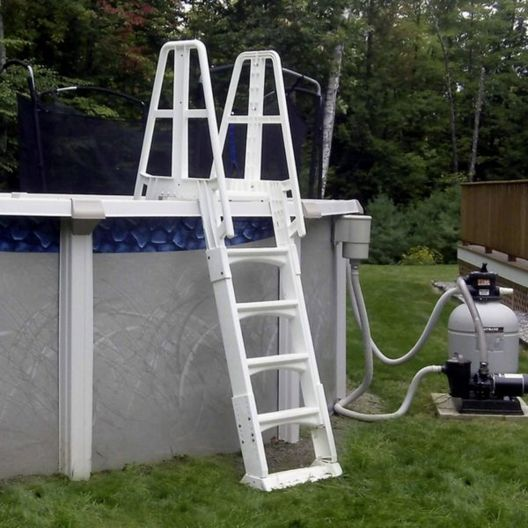 A-Frame Above Ground Pool Ladder SLA-W