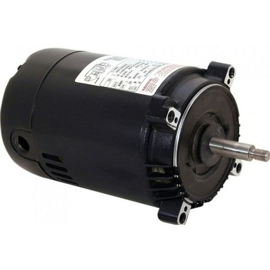 56J C-Face 1/2 HP Three Phase Pool and Spa Pump Motor, 2.7/1.35A 208-230/460V