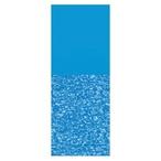 Swimline  Overlap 18 Round Print Bottom Above Ground Pool Liner 48/52 in Depth