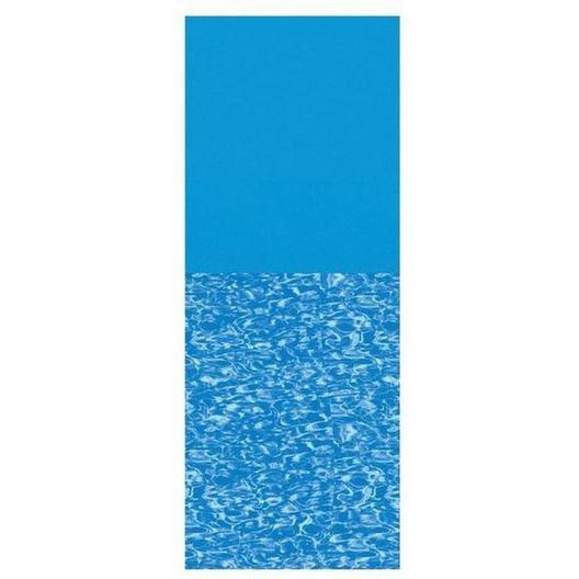 Swimline - Overlap 18'x33' Oval Print Bottom Above Ground Pool Liner, 48/52 in. Depth - 368756