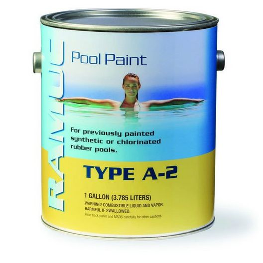 Type A-2 White Rubber Pool Paint
