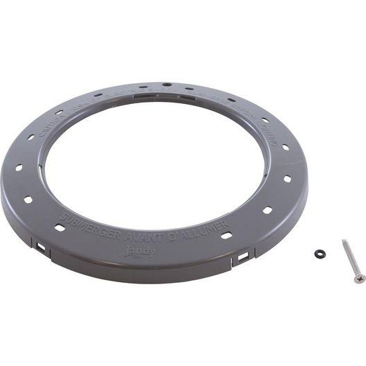 Zodiac - Gray Plastic Face Ring - 368854