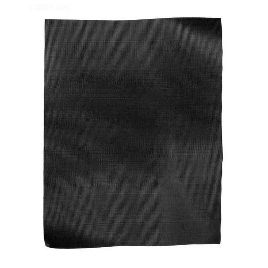 """DuraMesh Safety Cover Black Patch, 8.5""""x11"""" Self Adhesive"""