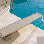 T7 Diving Board System with Waterfall, Summit Grey