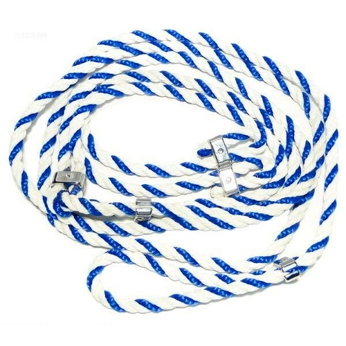 Aquabot - Pool Cleaner Rope Assembly (Blue and White, Nylon), 1 per machine