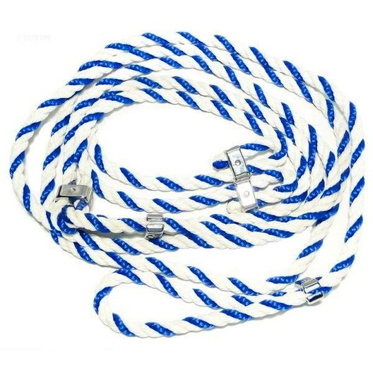 Aquabot  Pool Cleaner Rope Assembly (Blue and White Nylon) 1 per machine