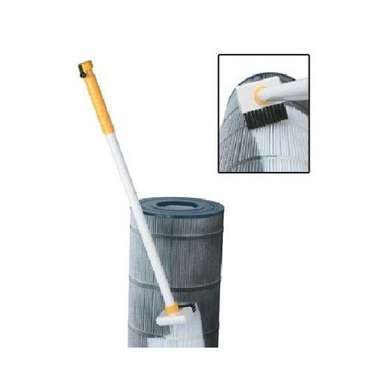 Splash  Pool Cartridge Filter Cleaning Wand  Includes Jet Nozzle  Brush Nozzle