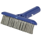 #410 6 in. Molded Back Algae Brush, Stainless Steel Bristles for Plaster, Concrete & Gunite