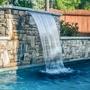 "Brilliant Wonders Waterfall, 84"" Back Port"