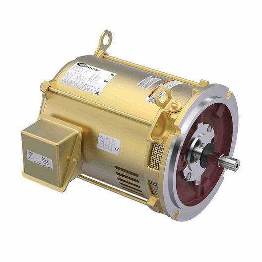 10 HP 208-220/440V 3 Phase 213TY Keyed C-Series Pool Motor