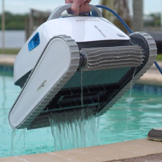 Dolphin - Proteus DX4 Robotic Pool Cleaner with PowerStream Technology - 369678
