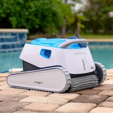 Dolphin - Proteus DX4 Robotic Pool Cleaner with PowerStream Technology