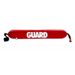Foam Pool Life Guard Rescue Tube, Red 37in.