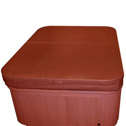 """89"""" x 89"""" Hot Tub Cover, Brown"""