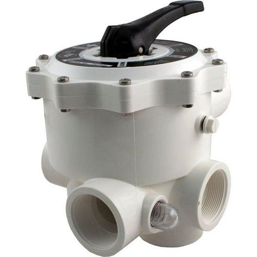 """Praher - SM-20-3 Sand 2"""" FTP Multiport Valve for Sand Filter - 377629"""