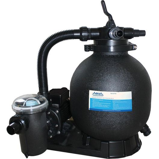 """15"""" Sand Filter & 1HP Single Speed Pump Above Ground Pool Combo"""