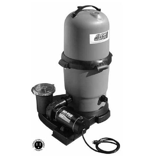 ClearWater II 200 sq. ft. Cartridge Standard System with 1.5 HP Hi-Flo II 2-Speed Pump
