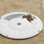 10in. Round Critter Skimmer - Gray