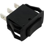 Carling Rocker Switch, 3 Terminals On-Off-On SPDT, 120V, 16A